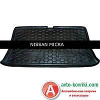 Avto-Gumm Резиновый коврик в багажник Nissan Micra 2003- от Auto Gumm