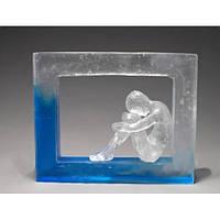Эпоксидная смола полупрозрачная Crystal 1кг (0,93+0,07)