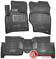 Avto-Gumm Модельные резиновые коврики в салон Audi Q-7 2005- Auto-Gumm