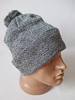 Мужские шапки с помпоном на зиму., фото 1