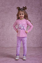 Штани дівч. Зіронька 4063-4, 116 фіолетовий вільвєт
