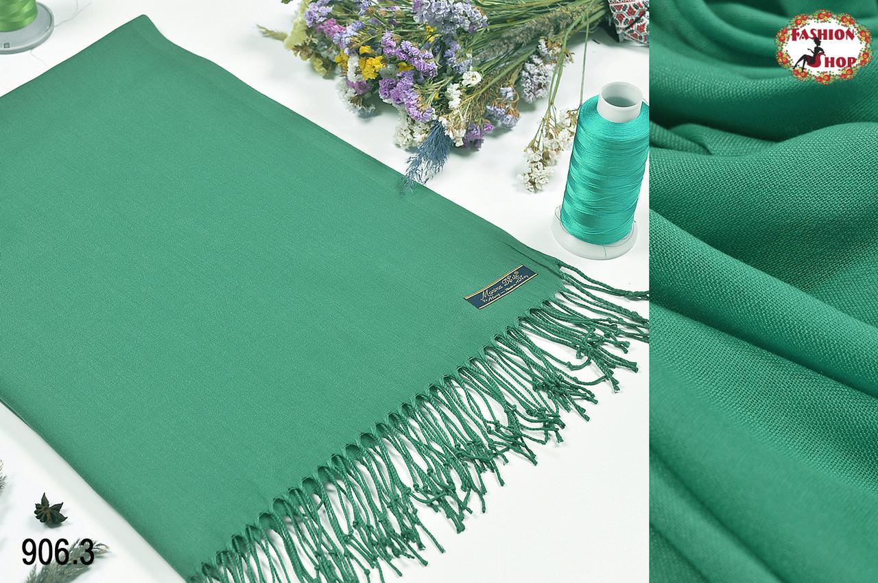 Мятный шарф из пашмины