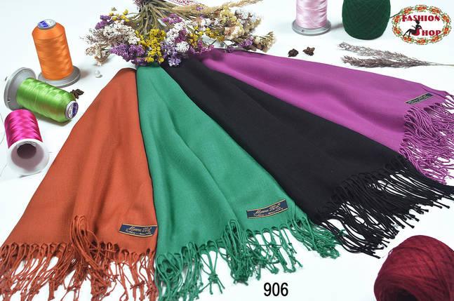 Мятный шарф из пашмины, фото 2