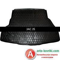 Avto-Gumm Автомобильный коврик в багажник для JAC J5 от Auto Gumm