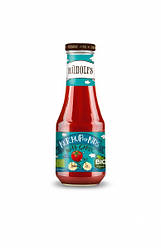 Детский томатный кетчуп Rudolfs с чесноком, 320 г