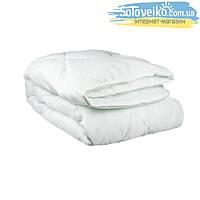 Одеяло 2-й силикон  ткань поликоттон БЕЛЫЙ 2,0 (в чемодане)