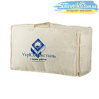Одеяло 30 % пуха 70 % м.г.п., тик  1,5 евро
