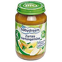 Детское овощное пюре babydream с  4-го месяца 190 г