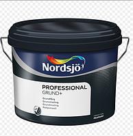 Грунтовочная краска для стен и потолков NORDSJO GRUND+ (10л.)