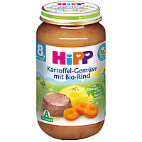 Детское пюре HiPP картофель-овощи-говядина с 8-го месяца 220 г