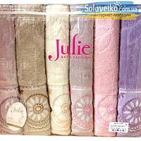 Комплект махровых банных полотенец Dantel Jakarli 3528