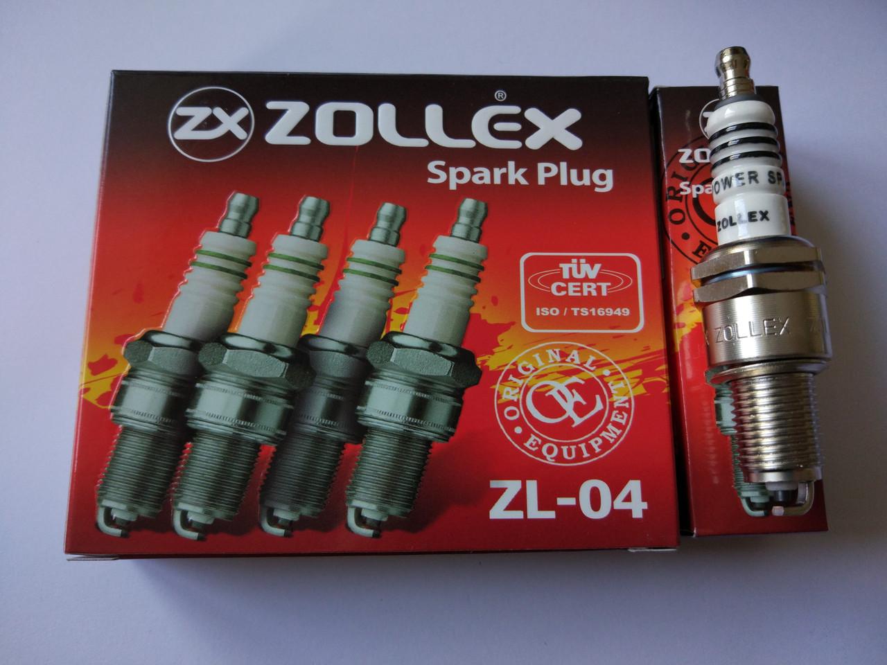 Свечи зажигания 2101, 2102, 2103, 2104, 2105, 2106, 2107 ZOLLEX