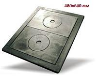 Чугунная плита (набор с рамкой) 480х640 мм