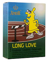 Презервативы - Amor Long Love 3szt
