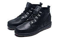 Зимние ботинки Trike, мужские, на меху, натуральная кожа, черные, р. 40 42 43 44 45