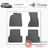 Stingray (Evolution) Модельные резиновые коврики в салон  Audi a 6 c7 2014- Stingray (Evolution)