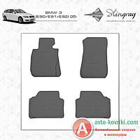 Stingray (Evolution) Резиновые коврики в салон BMW 3 (E90/E91/E92) 05- Stingray (Evolution)