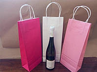 Пакеты для бутылки. Цветные пакеты.
