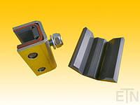 Направляющий блок L7 / BFK 10 / 65 х 36 х 33 мм, сталь-Cell-PE, болты с резьбой М10, Schindler