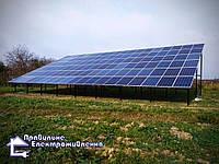 Мережева сонячна електростанція 30 кВт с. Фанчикове