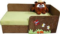 Детский диванчик с бортиком и нишей для белья Копатыч