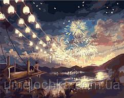 Картина по номерам без коробки Летний фестиваль (BK-G397) 40 х 50 см