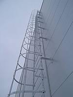 Технические лестницы из оцинкованного металла компании Etual