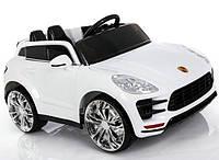 Детский электромобиль MG 311 Porshe, на резиновых EVA колёсах, белый