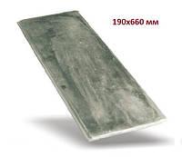Плита чугунная боковая 190*660 мм