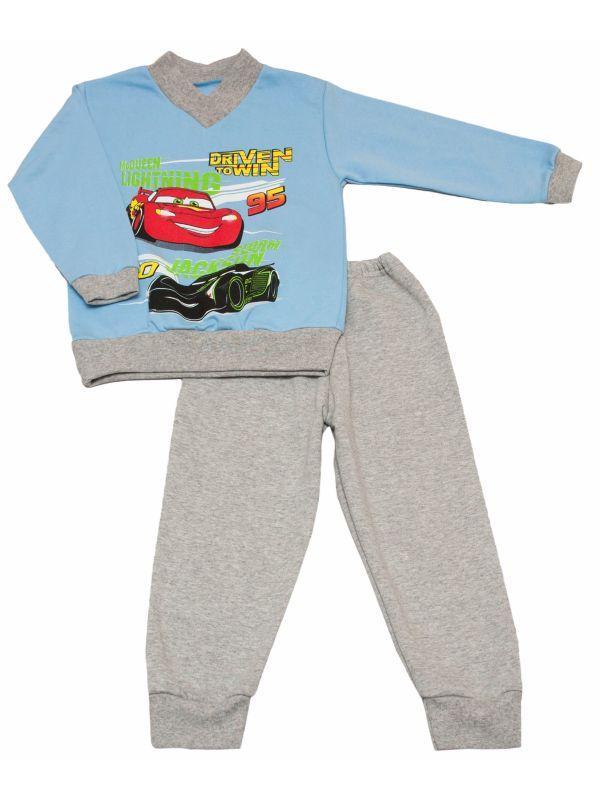 Пижама для мальчика детская с начесом, фото 1