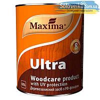 Деревозащитное средство с УФ-фильтром Maxima Ultra 0.75л Красное дерево Уценка