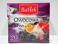 Фруктовый чай Bastek с ароматом ежевики 20 пирамидок , фото 1