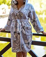 Качественный махровый халат для женщин