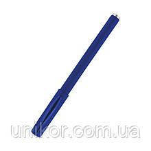 Ручка гелева з грипом, DG2042 прогумований корпус, стрижень синій. Delta by Axent