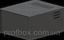 Корпус металевий MB-2 (Ш150 Г180 В90) чорний, RAL9005(Black textured)