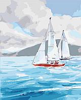 Картина по номерам Идейка Ласковое море (KH2726) 40 х 50 см