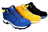 Зимние ботинки на толстой подошве код:6983629961