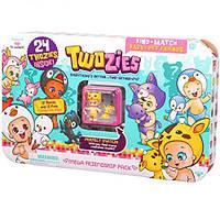 Набор фигурок Twozies S1 Большая компания (12 малышей, 12 питомцев, домик)