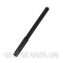 Ручка гелева з грипом, DG2042 прогумований корпус, стрижень чорний. Delta by Axent
