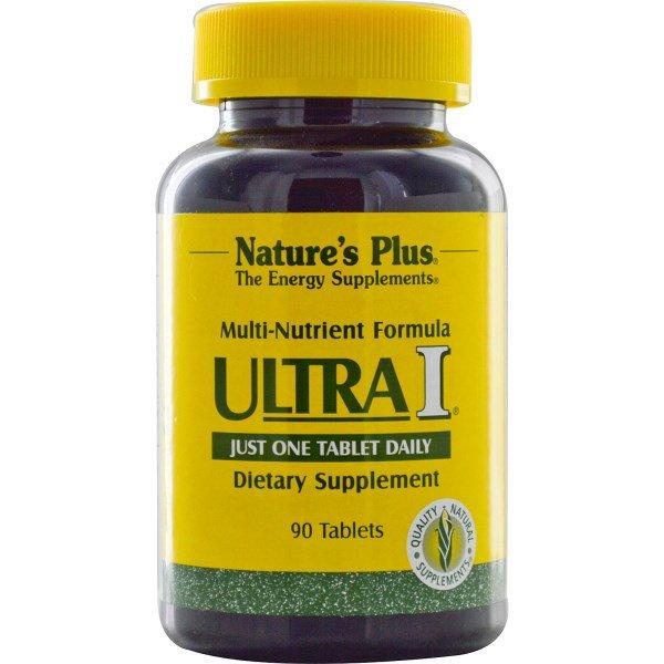 Nature's Plus, Ultra I, Multi-Nutrient Formula, 90 Tablets