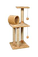 Когтеточка Троя игровой комплекс джут для котов многоуровневый 96 см