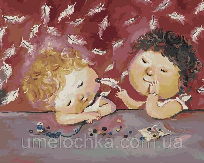 Картина по номерам Ангельский сон (BRM5965) 40 х 50 см