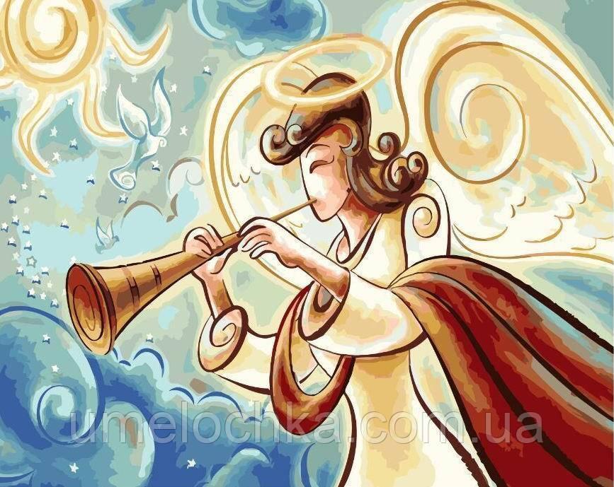 Картина-раскраска Музыка ангела (BRM5967) 40 х 50 см