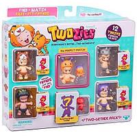 Набор фигурок Twozies S1 12 забавных малышей (6 малышей, 6 питомцев)