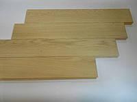 Массивная доска из дуба 600*100*15 мм сорт стандарт с фаской без покрытия
