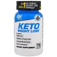 BPI Sports, Средство для похудения Keto, 75 капсул