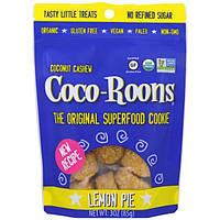 Sejoyia Foods, Органический кокосовые орехи кешью Coco-Roons, лимонный пирог, 85 г (3 унции)