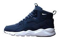 Мужские кроссовки Nike Huarache High Blue, фото 1