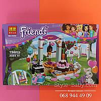 Конструктор Летняя площадка для выступлений Friends 194 детали, в коробке 33*21*4,5 см