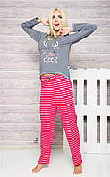 Пижама Oda 1193 Taro M, красный